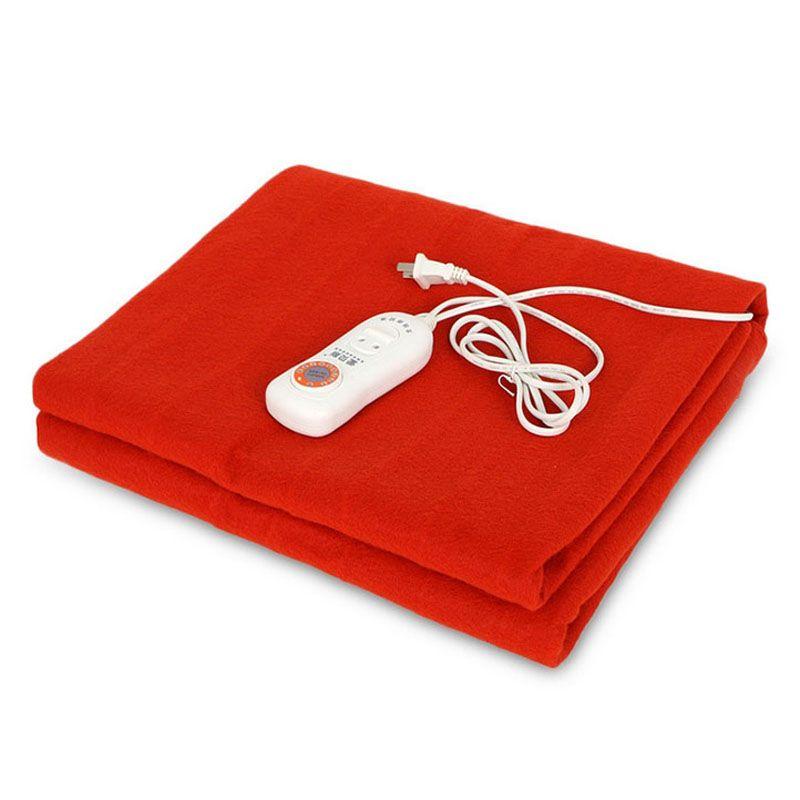 De sécurité Automatique Protection Couverture Chauffante Électrique couvertures Chauffage matelas thermostat/séchage chaleur 150x70 cm