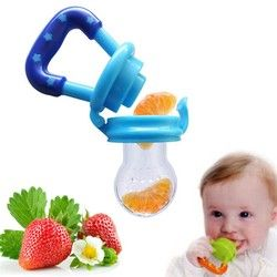 Portable Infantile Alimentaire Bébé Nipple Feeder Silicone Sucette Fruits Alimentation Fournitures Sucette Mamelons Doux Bébé D'alimentation Outil