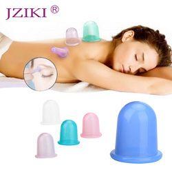 JZIKI 1 pc Famille Corps De Massage Aide Anti-Cellulite Vide Silicone Ventouses Coupes de Soins de Santé Dropshopping