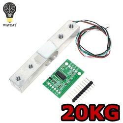 WAVGAT Numérique Cellule De Charge Capteur De Poids 20 KG Portable Balance de Cuisine Électronique + HX711 Capteurs de Pesage Ad Module