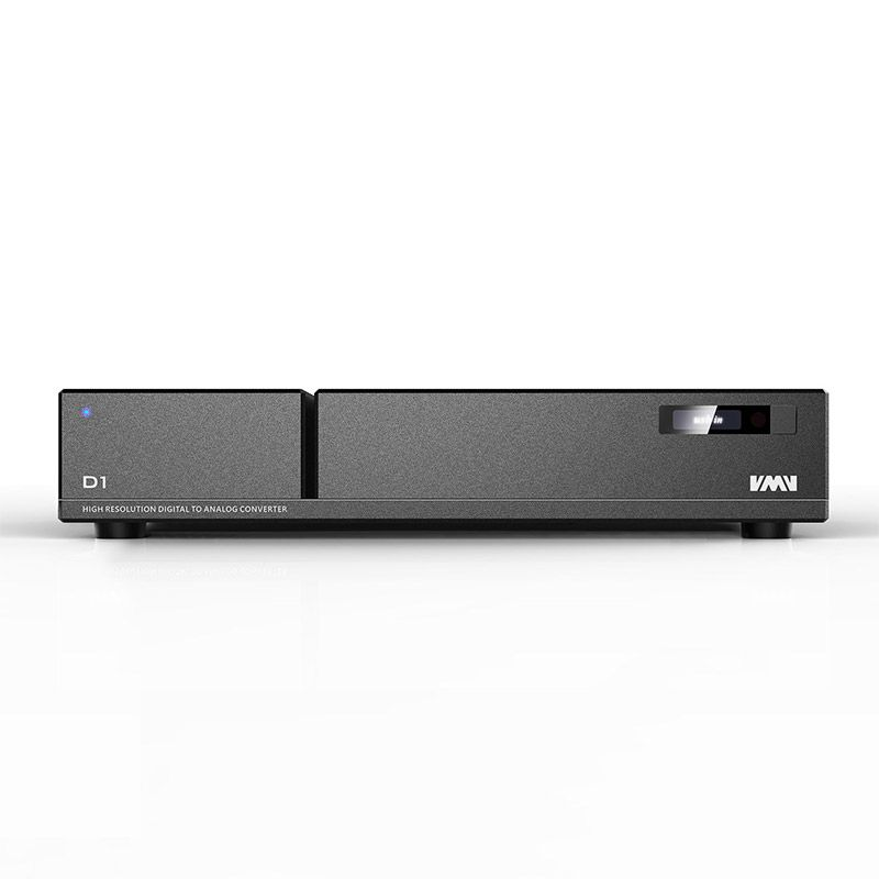 SMSL VMV D1 Digital Decoder Analog Audio Converter PCM 768kHz/32bit DSD64-512 USB/Fiber/Coaxial/EBU DAC