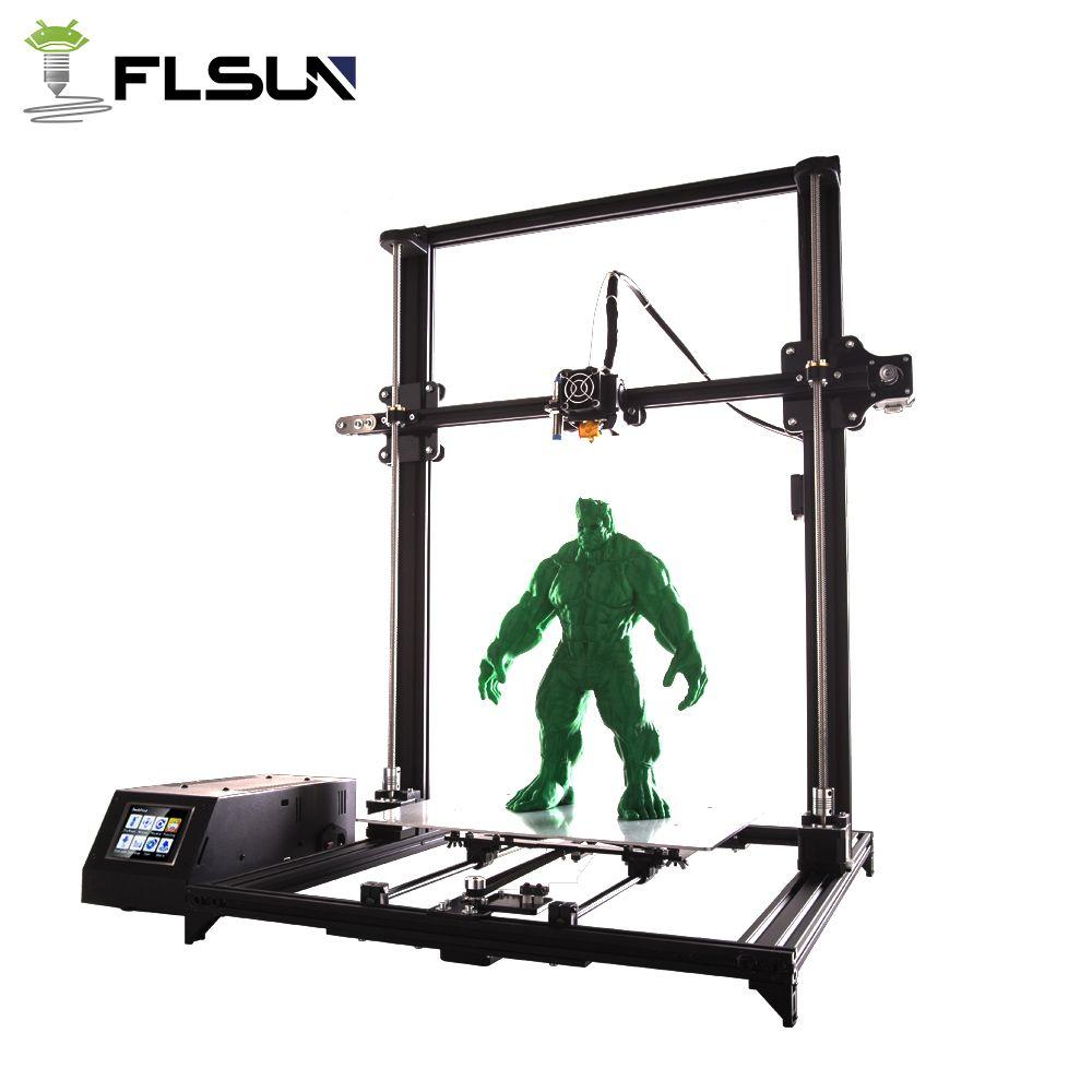 Flsun 3D Printer Large Printing Area 330*330*400mm Pre-assembly High precision Touch Screen Filament Sensor