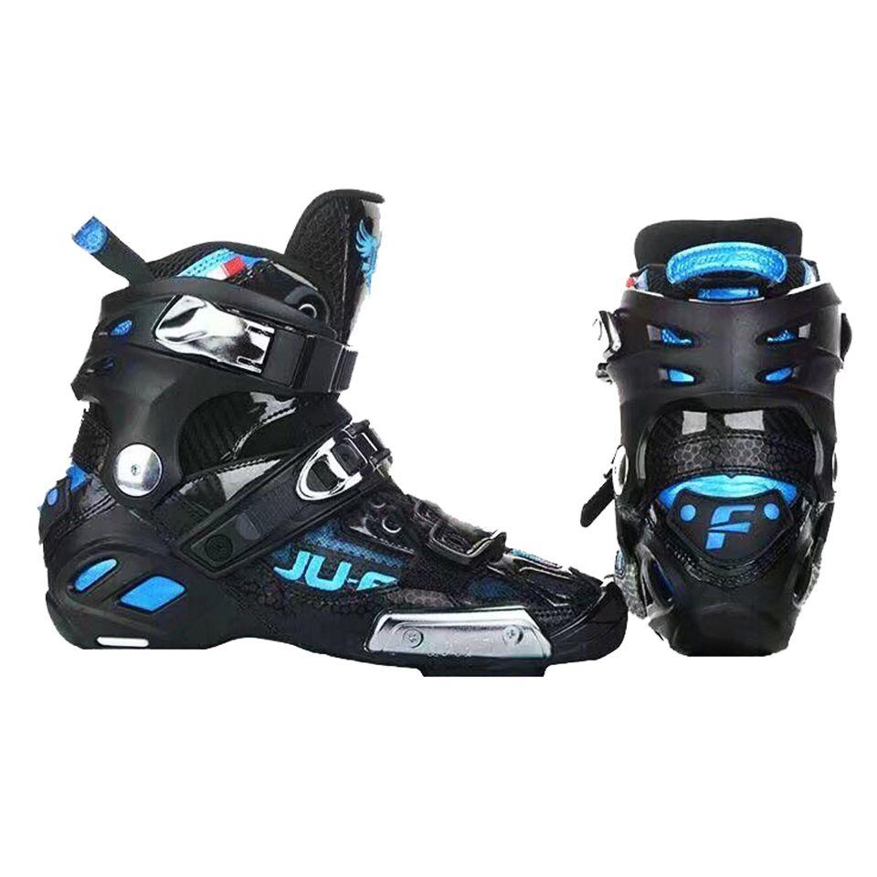 Ursprüngliche War Wolf Up Stiefel Hohe Ankle Semi-solft 165mm Für Slalom Patines Geschwindigkeit Inline Skates Oberen Schuhe professionelle Racing