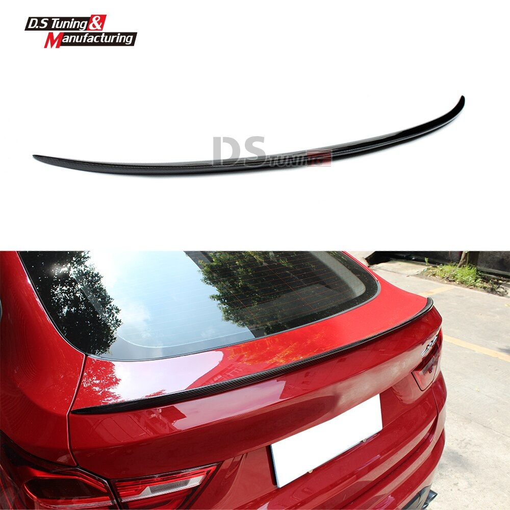 F26 Carbon Fiber M Style Rear Spoiler Wing For BMW X4 F26 Boot Spoiler Wing 2014 - 2017
