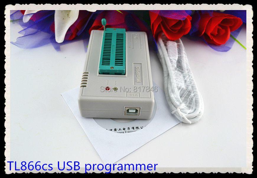 XGECU V8.08 TL866II Plus EEPROM PIC AVR TL866A TL866CS USB Universal BIOS nand Programmer 24 93 25 mcu Bios EPROM
