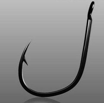 500PC Fish hook Fishing Hook 1#-15# Freshwater Fishing Bait Hook Bass Fishing Hook