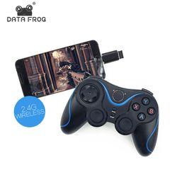 Беспроводной игровой контроллер Джойстик с OTG для PC игры геймпад универсальный для Android ТВ Box Tablet для сотового телефона удаленные 2,4 г
