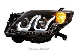 Untuk Toyota Prado U gaya Malaikat cincin Mata lampu Kepala 2009-2013 tahun V2 LF
