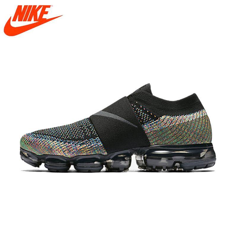 Original Neue Ankunft Authentic Nike Schuhe Air Dampf Max Fliegenschnur Regenbogen Kissen Kissen Komfortable Laufschuhe