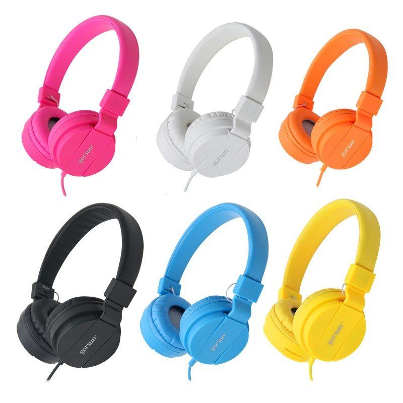 DEEP BASS Casque Écouteurs 3.5mm AUX Pliable Portable Réglable Gaming Headset Pour Téléphones MP3 MP4 Ordinateur PC Musique Cadeau