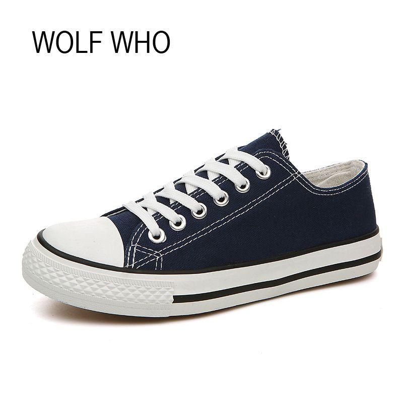 Волк, который Для женщин Белые парусиновые туфли без каблука Дамы Девушка красовки суперзвезда Tenis Feminino Повседневное Basket Femme обувь x243
