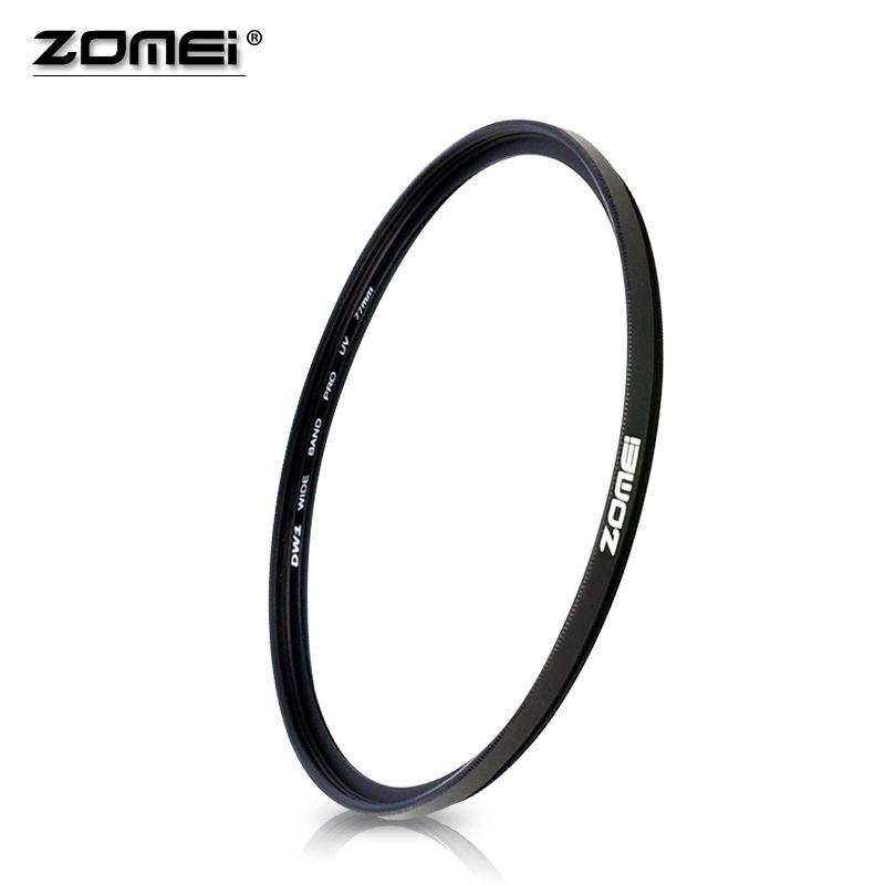 ZOMEI D'importation Verre Optique Ultra-Violet UV Filtre 40.5/49/52/55/58/62/67/72/77/82/86mm Comme Protecteur D'objectif Pour Nikon Canon Caméra
