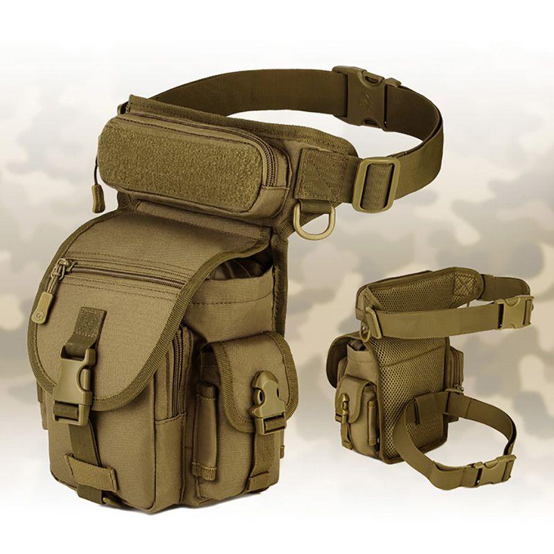 Ourdoor Wasserdichte Taktische EDC Molle Gürteltasche Tragbare Militär Sawt Bein Gürtel Bag Dienstprogramm Gadget Sicherheit Pack Tragetaschen Q1