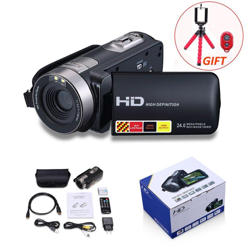 Digital Camera Professional 16x Digital Zoom HD Digital Video Camera Camcorder DV 3.0