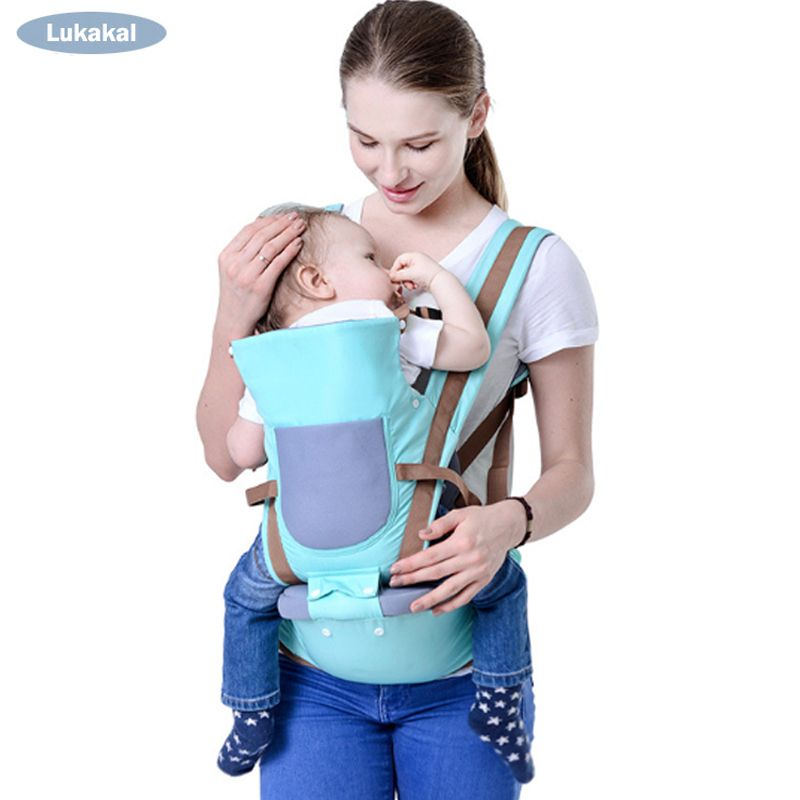 2019 New Design Breathable Baby Carrier 0-36M Front Facing Baby Kangarro Face to Face Baby BackPack HipSeat Baby Sling