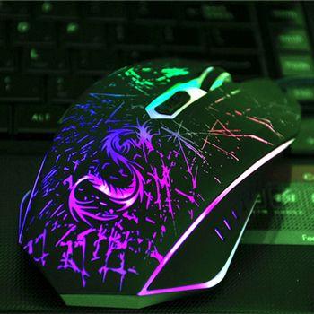 Snigir Marque USB Filaire Optique Ordinateur pc portable ordinateur portable Souris De Jeu DPI Jeu LED gamer Souris Pour Dota csgo Les Joueurs souris arc