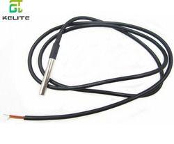 1pcs DS18B20 Stainless steel package 1 meters waterproof DS18b20 temperature probe temperature sensor 18B20