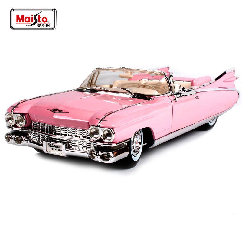 Maisto 1:18 1959 Cadillac ELDORADO BIARRITZ Diecast Modell Auto Spielzeug Neue In Box Freies Verschiffen 500 K Alten Auto 36813