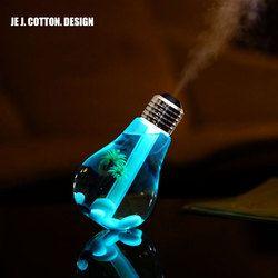 400 ml LED Lampe Air Humidificateur À Ultrasons pour La Maison Huile Essentielle Diffuseur Atomiseur Assainisseur D'air Mist Maker avec LED Nuit lumière