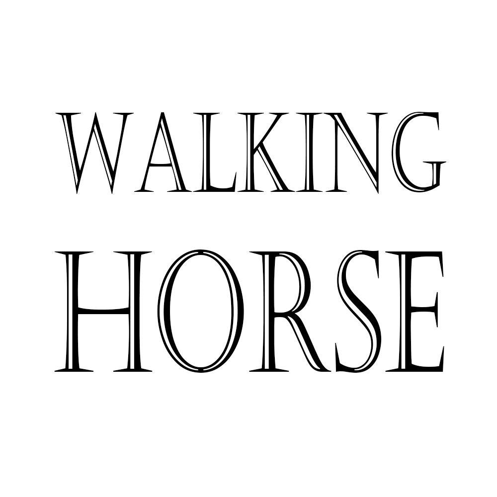 HDARTISAN Art mural peinture toile photo Animal impression marche cheval pour salon décor à la maison pas de cadre