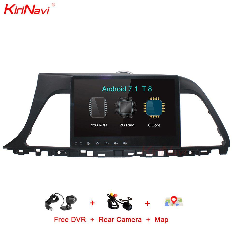 KiriNavi Octa Core Android 7.1 Touchscreen Auto DVD GPS Für Hyundai Sonata Auto Audio System Stereo Multimedia GPS Navigation RDS