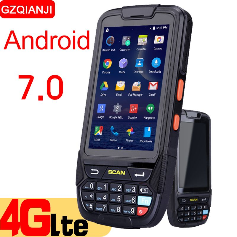 Android 7.0 PDA Handheld data collector pda terminal wifi 1D bluetooth barcode reader scanner 2D inventory management warehouse