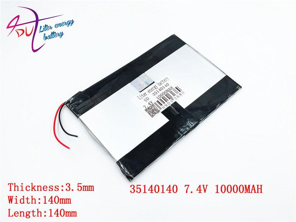 U9GT2 U19GT Vido N90 A19 A1 double moteur 35140140 10000 MAH 36140140 3570140*2 Chi V9 Batterie bricolage 7.4 V Comprimés Batteries MILIEU Pda