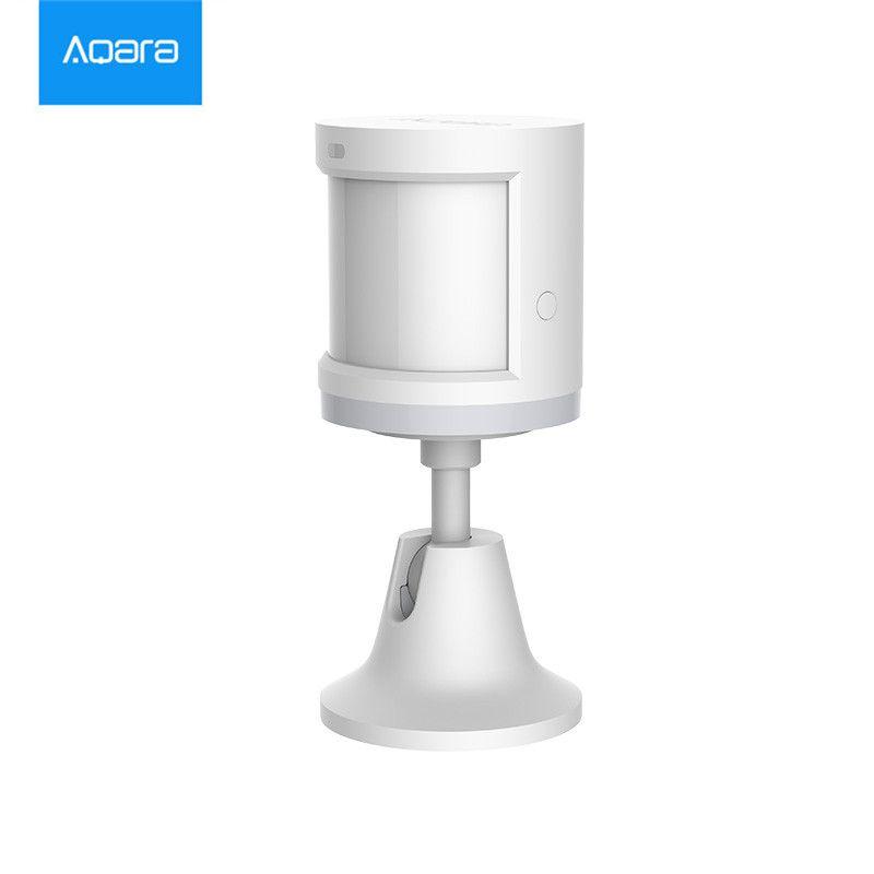 En stock, xiaomi Aqara Corps Capteur et Intensité De La Lumière Capteurs, zigBee wifi Sans Fil Travail pour xiaomi smart home mi jia mi maison APP