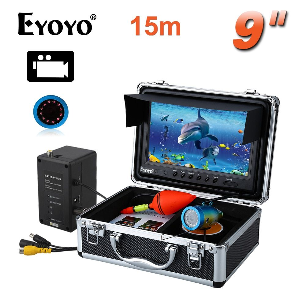 Free shipping!EYOYO WF09 15m Fish Finder 8GBIR 9