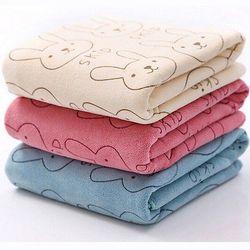 1 unids algodón suave 20x50 cm microfibra toalla bebé niños playa Toalla de baño Natación absorbente secado lindo libre libre