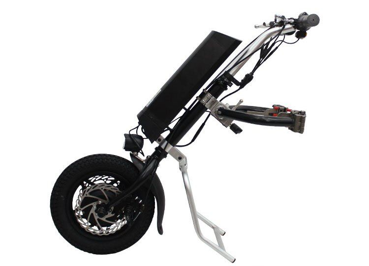 EU DUTY FREE Conhismotor 36V 250W Electric Handcycle Folding Wheelchair Attachment Hand Cycle Bike WheelChair Conversion Kits