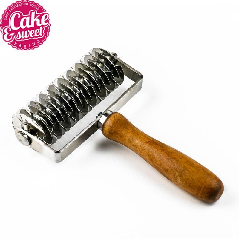 Haute qualité en acier inoxydable rouleau de pâtes Dockers fabricant de nouilles pratique coupe-pâtes outils de pâtes accessoires de cuisine