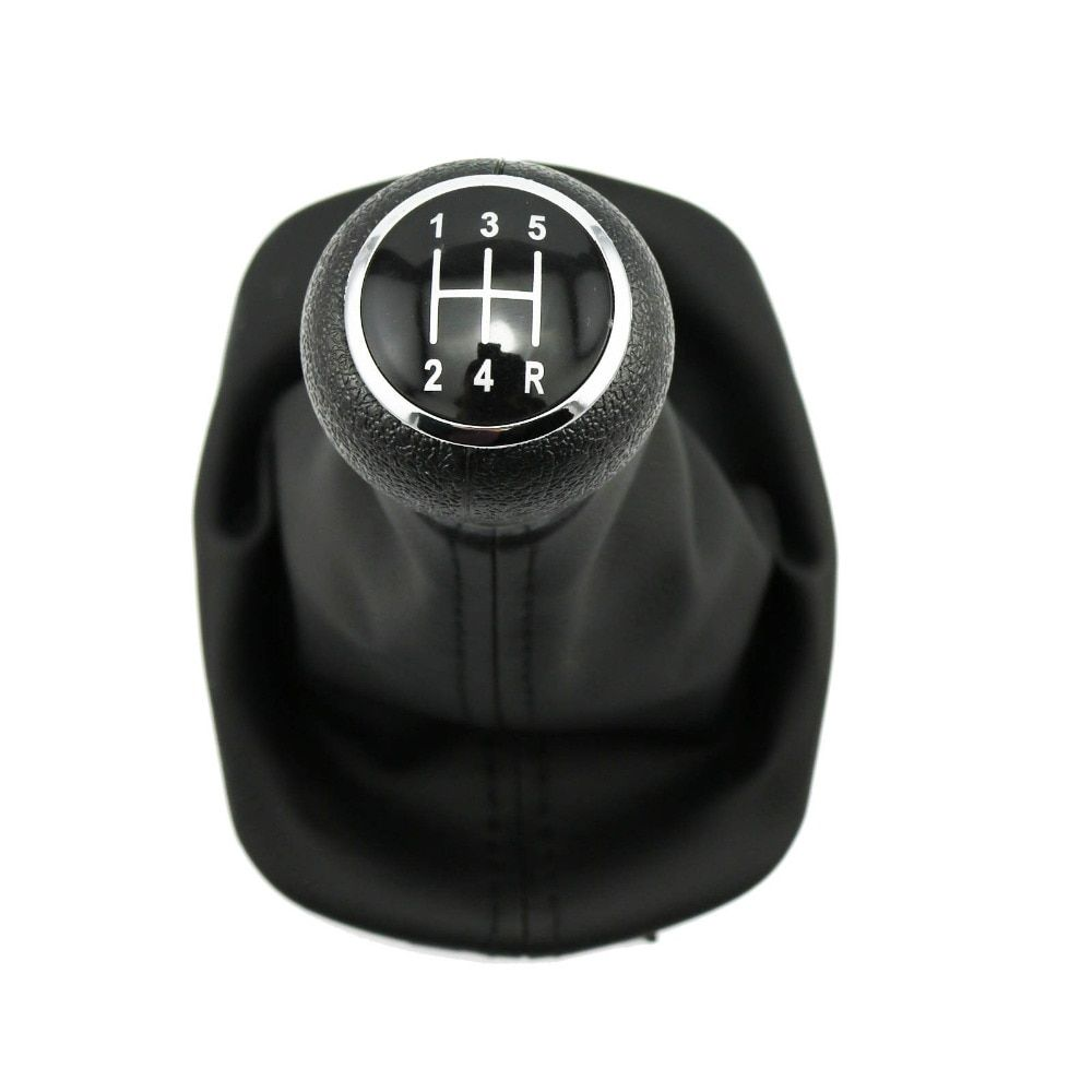 New For VW Passat B5 B5.5 1997 1998 1999 2000 2001 2002 2003 2004 2005 Car-Styling 5 Speed Gear Shift Knob With PU Leather Boot