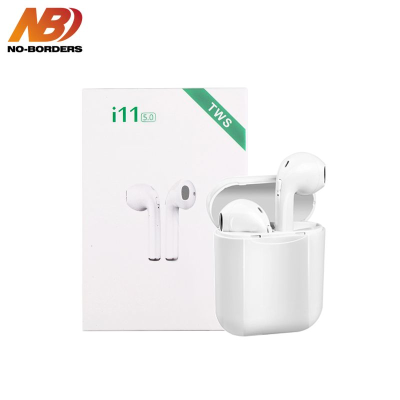 i11 TWS Wireless Stereo Earbuds Bluetooth 5.0 Headset Auto Pairing Sport Earphone For Iphone Android Huawei not i9s i10 i13 i60