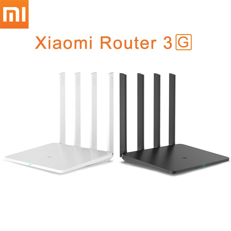 Original Xiaomi Mi Router WiFi Repeater 3G with 256MB Memory 128MB Large Flash Dual Band 2.4G/5G USB 3.0 Roteador APP Control