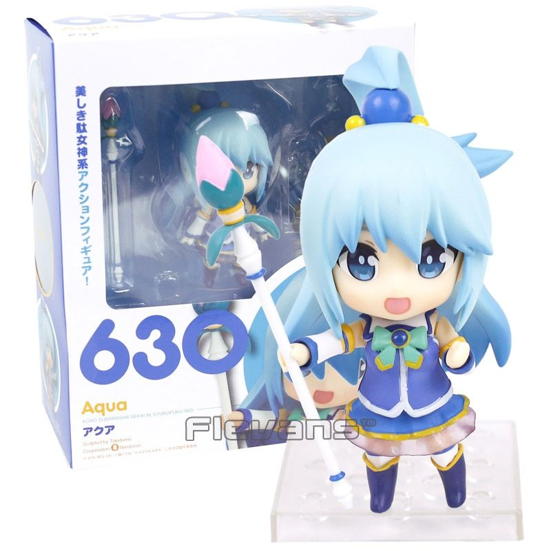 Nendoroid KonoSuba God's Blessing on this Wonderful world! Aqua 630 PVC Action Figure Collectible Model Toy