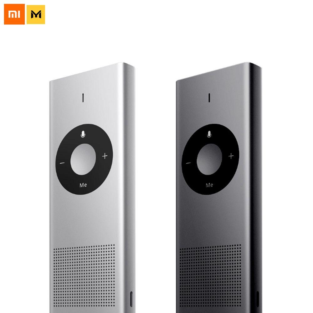 Xiaomi Mijia Chain Link Moyu AI Translator 14 Lauguages 8 Hours Standby Wifi Network Translate Machine For Travel Smart Home