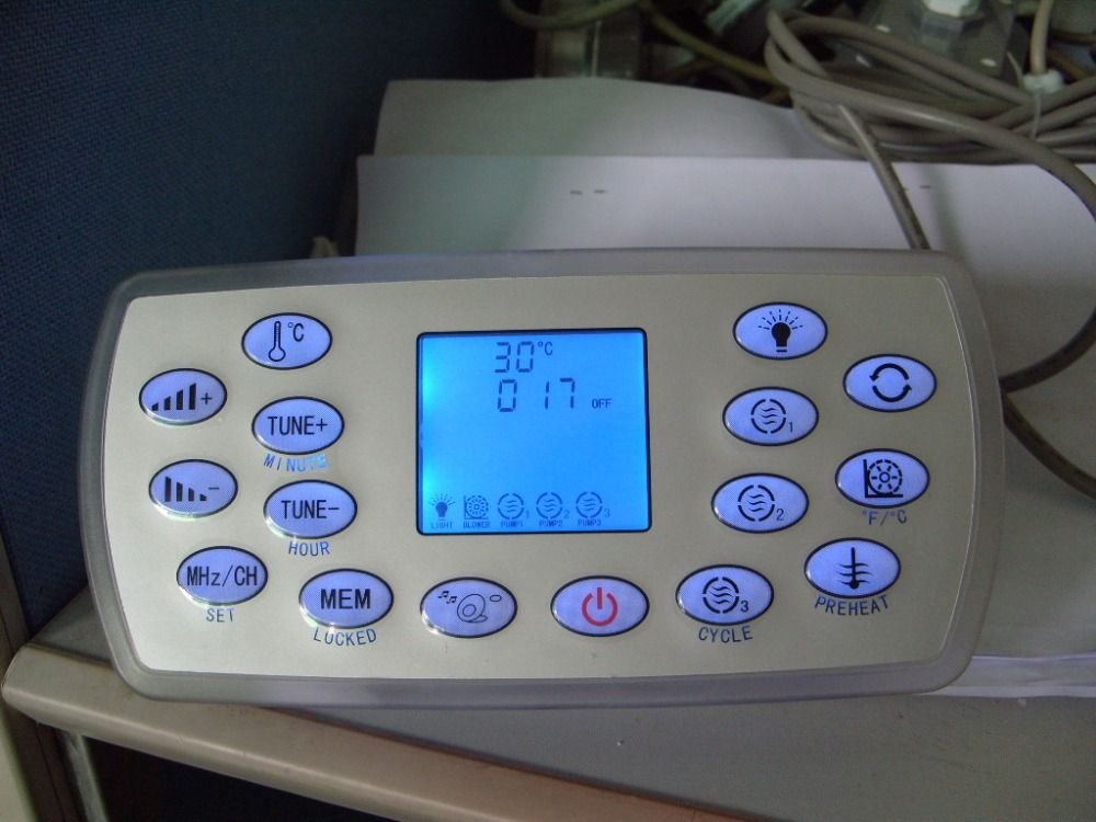 KL8-3 spa keypad , hot tub controller panel,Suitable for JAZZI,J&J,SERVE SPA,kingston,monalisa,mesda