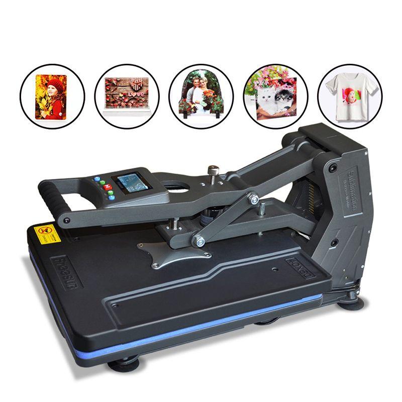 Multifunktions ST-4050B 40x50 cm T-shirt Presse Maschine ohne Hydraulische Hitze Presse Maschine für Telefon Fall/Tasche/ puzzle/Rock/Glas