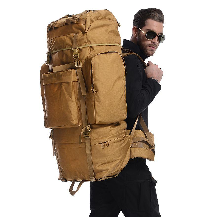 2018 männer Wasserdichte Reise Military Armee Taschen Camo Rucksack rucksäcke herren Travel Trekking Bergsteigen mochila feminina 100L
