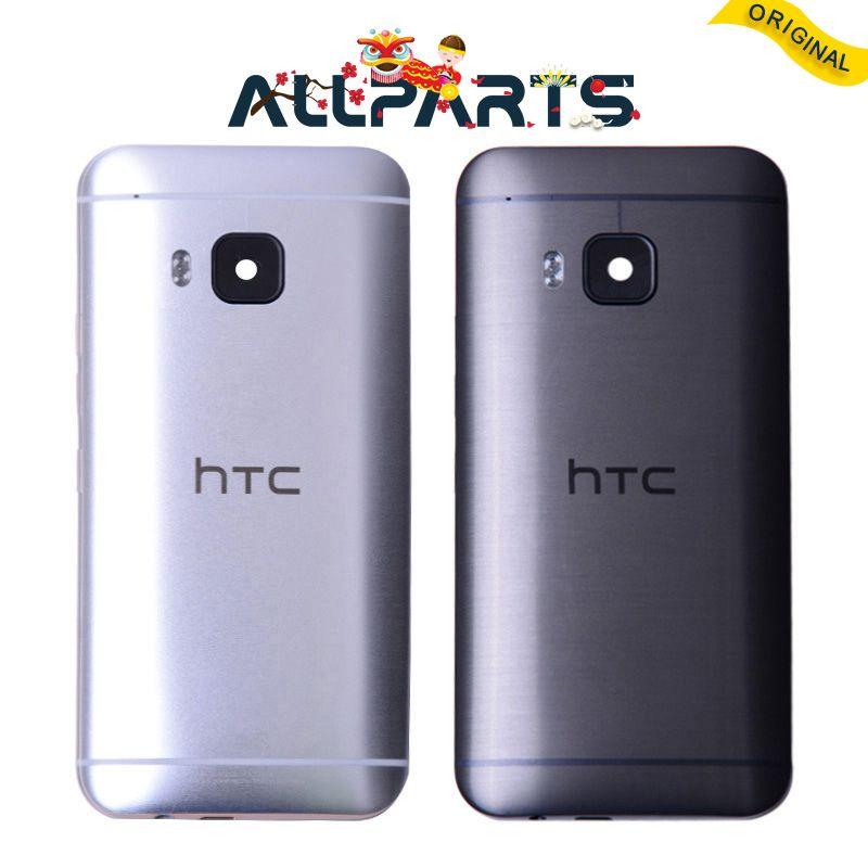 D'origine New Metal Arrière Logement Porte Pour HTC One M9 Retour Couvercle de la batterie Cas avec Volume + Bouton D'alimentation + Camera Lens l'assemblée