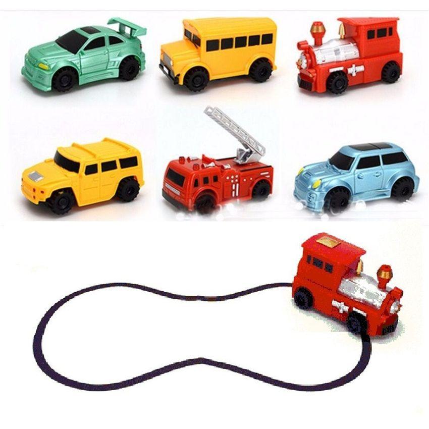 1 шт. Magic мини ручка Индуктивный игрушка модель автомобиля серии головоломки следовать любой линии вы рисуете Игрушечные лошадки для мальчи...