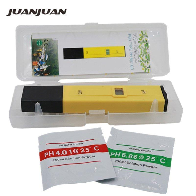 Testeur numérique de mètre de PH d'essai de l'eau de stylo de poche PH-009 IA 0.0-14.0pH pour le laboratoire d'eau de piscine d'aquarium 21% outre