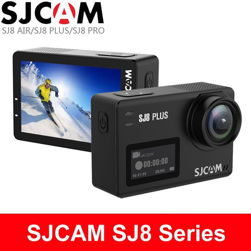 SJCAM SJ8 Pro Action Kamera SJ8 Plus Sport DV 1290 P 4 K WiFi Fernbedienung 30 m Unterwasser Wasserdichte SJ outdoor Sport Cam SJ8 Luft