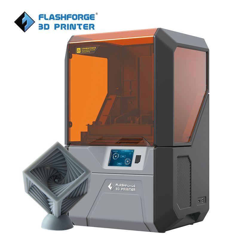Flashforge Hunter DLP uv printer resin 3d printer with 500g grey standard resin for free