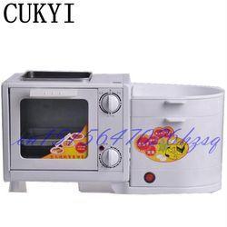 Cukyi 5L Mini Empat Dalam Satu Sarapan Mesin Oven & Steamer & Flambe Pan & Mendidih Pembuat Sarapan Multifungsi mekanik