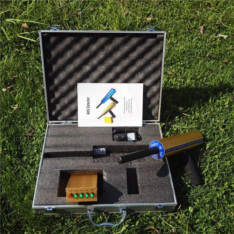 Hot sell Treasure Hunting Underground Long Range Gold Diamond Metal Detector AKS 3D Metal Detector Machinery gold digger