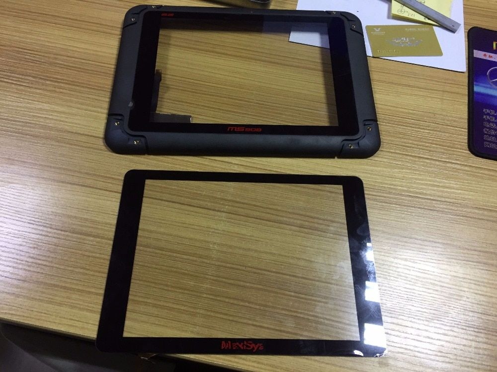 Touch Für AUTEL MaxiSys Pro MS905 MS906 MS908 P TS BT PRO Automotive Diagnostic touch screen panel Digitizer Glas sensor