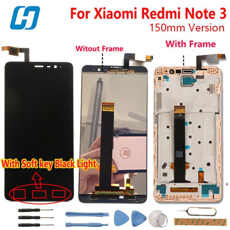 Xiaomi Redmi Note 3 Écran lcd + Écran Tactile Digitizer Panneau de Verre l'assemblée Écran Pour Xiaomi Redmi Note 3 Pro Premier 5.5 ''FHD