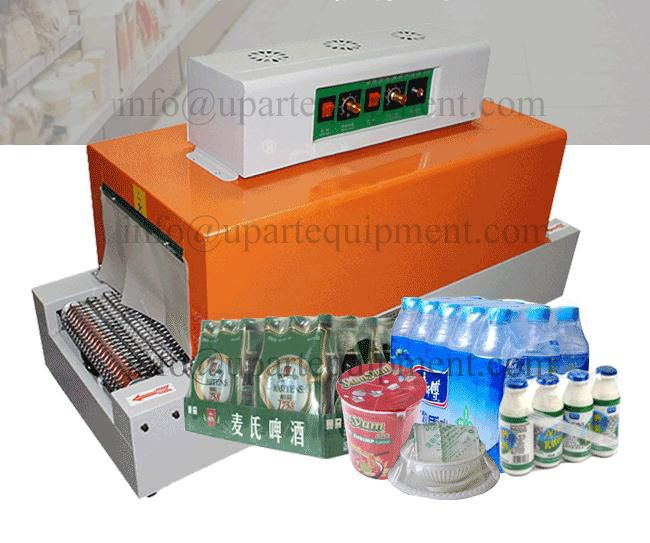 Automatische Schrumpfen Maschine PVC Schrumpfen Kunststoff Film Schrumpfschlauch Rohr Maschine Für Produkt Pack